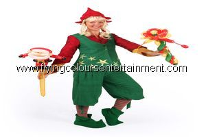 Balloon modellers for Christmas events