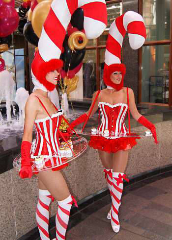 Candy Canes Walkabout Act