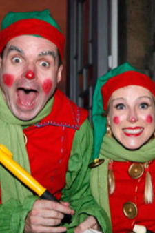 Elf acts for Christmas events