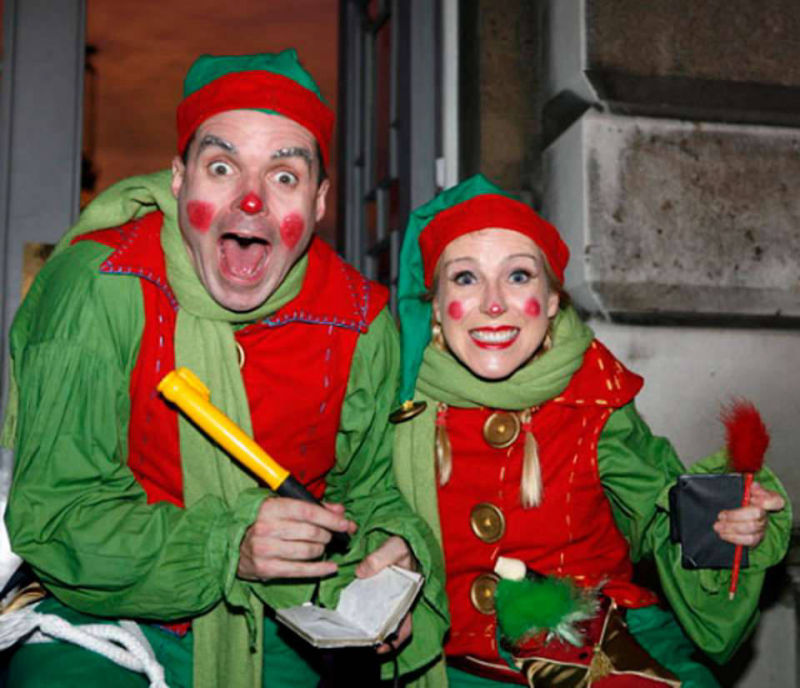 Cheeky Elves Walkabout Act
