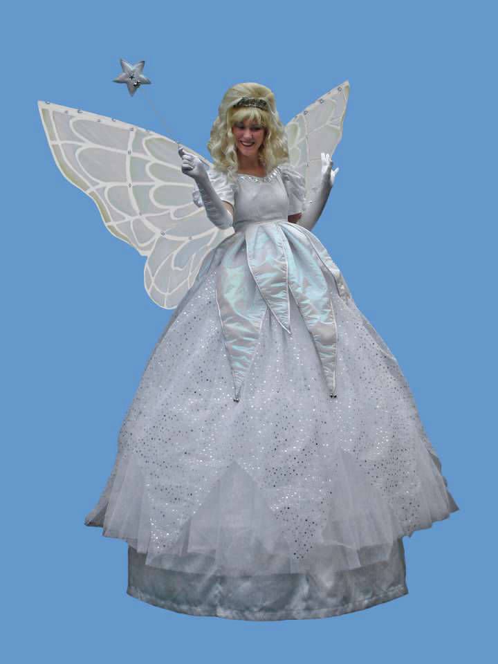 Christmas Fairy Stilt Walker