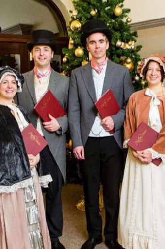 Victorian and Dickensian acts for Christmas events