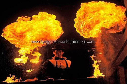 Fire Performers for Xmas Events
