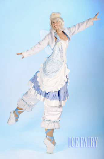 Ice Fairy Stilt Walker