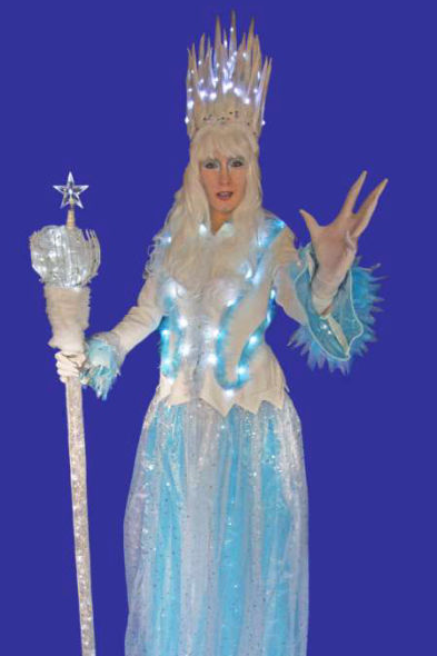 Stilt Walkers for Christmas events