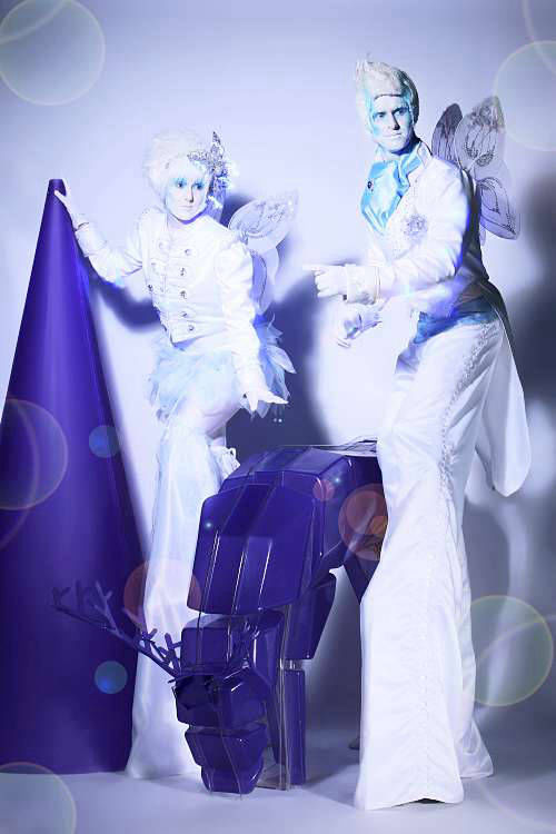 Ice Pixies Stilt Walkers