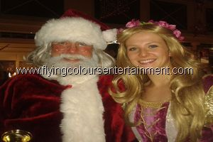 Santa acts for Christmas events