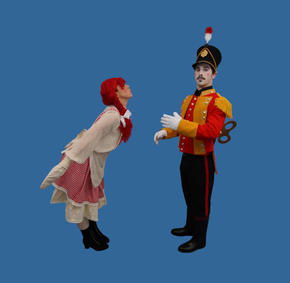 Toy Soldier and Rag Doll Christmas Act