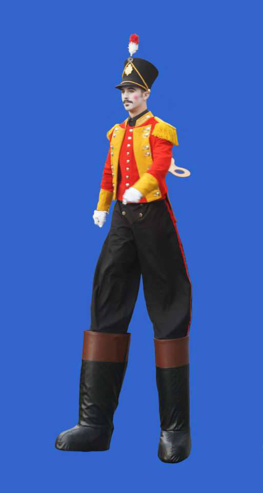 Toy Soldier Stilt Walker